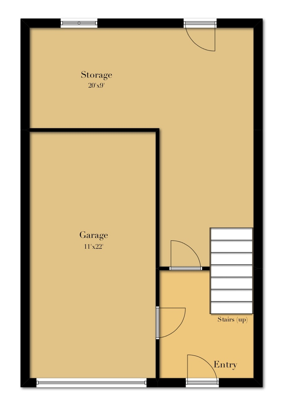 3 Bedroom First Floor