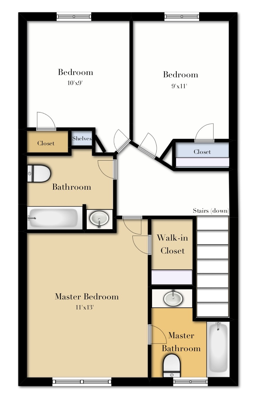 3 Bedroom Third Floor